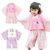 日本造型服 女寶寶連身衣 背心套裝組cosplay套裝 萬聖節變裝 日系寶寶兔裝 12007