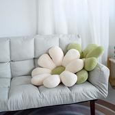 北歐風小雛菊抱枕ins花朵床頭上靠枕沙發靠墊飄窗民宿太陽花坐墊 初色家居館