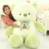熊毛絨玩具熊貓公仔白色抱抱熊女生泰迪熊布娃娃狗熊棕色TA6448【極致男人】