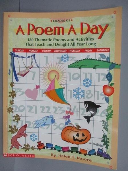 【書寶二手書T1/語言學習_PAJ】A Poem A Day