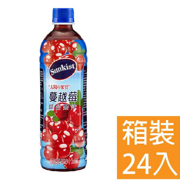 香吉士 蔓越莓綜合果汁飲料 580ml 24入/箱