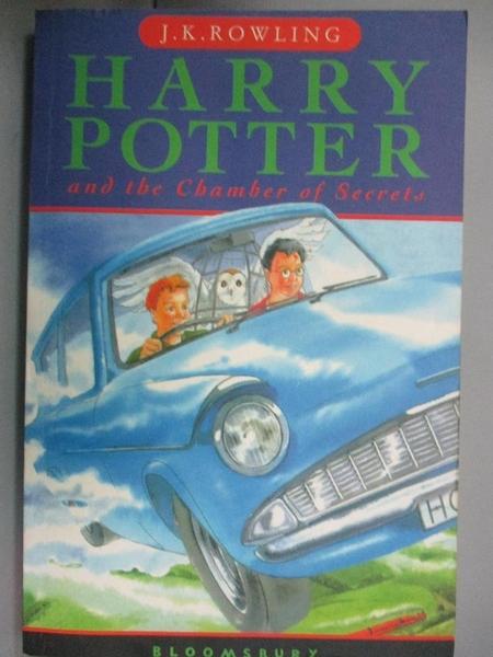 【書寶二手書T1/原文小說_MHW】Harry Potter and the Chamber Of Secrets_J. K. Rowling
