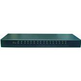 SUNBOX 工規機架式USB to RS232 一個USB(2.0)轉16個高速RS232轉換器(USI-1016F)