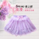 女童短裙兒童蓬蓬裙春秋洋氣女孩寶寶紗裙嬰兒蛋糕裙夏 優尚良品