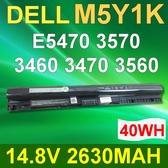 DELL 4芯 M5Y1K 日系電芯 電池 Inspiron14 P65G 15 P51F P28E Vostro14 ( 3458 3459 ) P65G Latitude 3460 3470 3560 3570