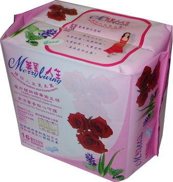 美麗人生 複方植物精油衛生棉-量多及夜用16片/包