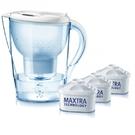 【德國BRITA】Marella馬利拉3.5L濾水壺超值包(含4支濾芯)