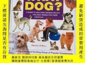 二手書博民逛書店WHAT罕見DOG? A GUIDE TO HELP NEW OWNERS SELECT THE RIGHT BR