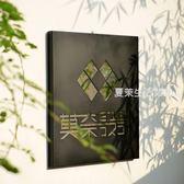 廣告牌 鏡面發光字招牌 個性門牌 店鋪logo 門頭廣告牌 公司形象牆·夏茉生活YTL