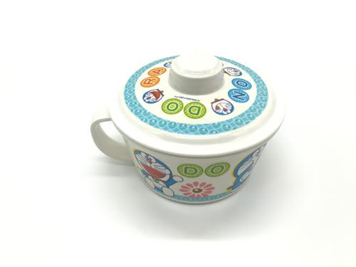 【好市吉居家生活】DE-315 哆啦A夢杯麵碗(附蓋) 750ML 泡麵碗 湯碗