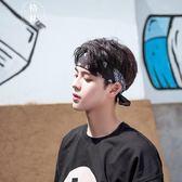 嘻哈頭飾韓國街頭潮人男頭巾 個性運動束發帶百搭吸汗頭戴 【格林世家】
