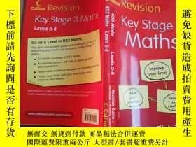 二手書博民逛書店Revision罕見KS3 Maths Levels5-8【實物