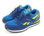 REEBOK 麂皮運動慢跑鞋《7+1童鞋》3005藍色