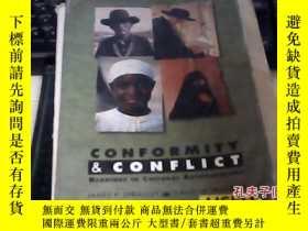 二手書博民逛書店conformity罕見&conflict READINGS C