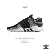 IMPACT Adidas EQT Support ADV Primeknit 黑 白 條紋 編織 輕量 BY9390