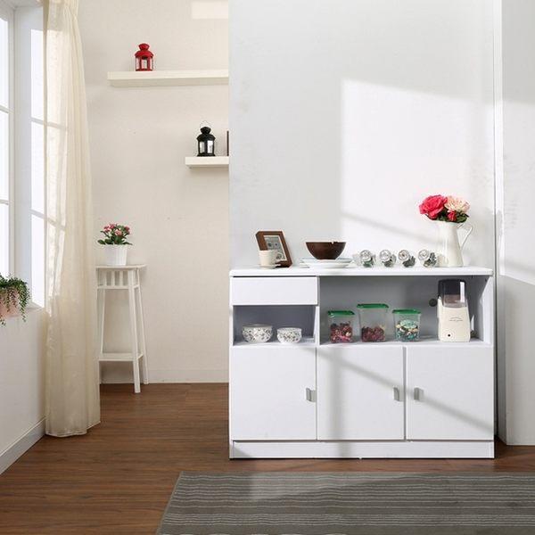 《百嘉美》防潑水三門一抽廚房櫃/餐櫃/收納櫃 電視櫃 辦公椅 餐桌椅 全身鏡