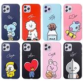 韓國 BT21 宇宙明星 手機殼 軟殼│iPhone 11 Pro Max XR Xs X SE 8 7 Plus │LG VELVET G8 G8X V50S V50