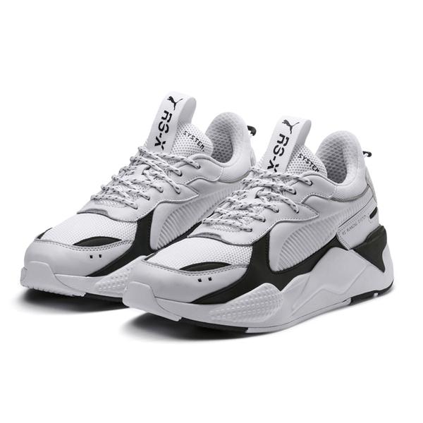 Puma RS-X Core 白黑 男女 運動鞋 老爹鞋 慢跑鞋 鋼彈 炫雅 厚底 休閒鞋 情侶鞋 36966601