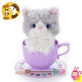 Hamee 日本 MimicryPet 茶杯寵物 可動回聲玩偶 絨毛娃娃 鳴聲寵物 迴聲 賓士貓 287206