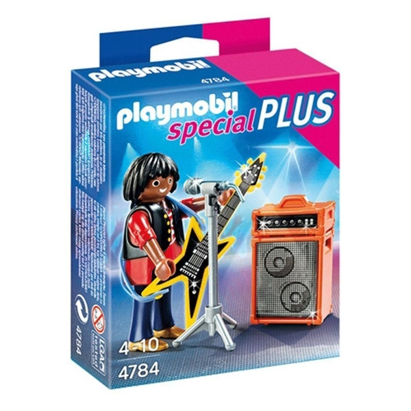 特價 playmobil special plus 摩比人 搖滾天王_ PM04784