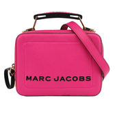 【MARC  JACOBS】The Mini Box 20 Bag相機包(桃粉) M0014840 671