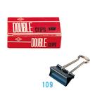 【奇奇文具】LIFE 109(223)41mm 長尾夾12入 (單盒)