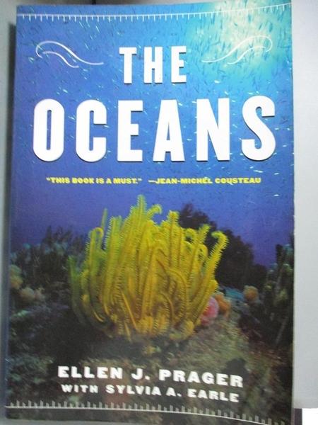 【書寶二手書T7/動植物_E4C】The Oceans_Prager, Ellen J./ Earle, Sylvia