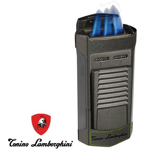 義大利 藍寶堅尼精品 - SEPANG LIGHTER 打火機(鐵灰綠) ★ Tonino Lamborghini 原廠進口 ★