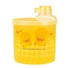 PiYo黃色小鴨-半透明四格奶粉罐(大) 830112[衛立兒生活館]