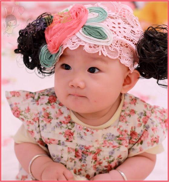 果漾妮妮  寶寶髮帶/兒童髮帶/嬰兒髮帶/造型髮帶/花花髮帶【U6870-F】