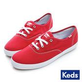 KEDS 品牌經典休閒鞋 紅 W110003 女鞋
