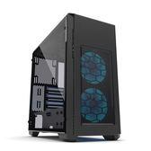 Phanteks 追風者 Enthoo Pro M ATX PH-ES515PTG_SWT鋼化玻璃窗內部白黑色機殼