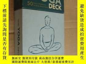 二手書博民逛書店THE罕見YOGA DECK:50 Poses & Medita