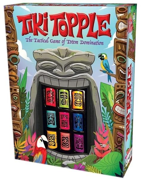 『高雄龐奇桌遊』 推倒提基 大盒美版 Tiki Topple 附中文說明書 正版桌上遊戲專賣店