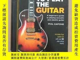 二手書博民逛書店Learn罕見to Play the Guitar 自學吉他演奏