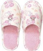 日本美樂蒂室內拖鞋冬季款毛絨絨保暖拖鞋玫瑰624120通販屋
