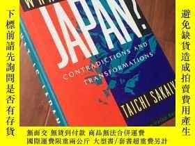 二手書博民逛書店What罕見is Japan contradiction and