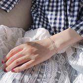 雙層轉運珠925純銀手鍊女氣質簡約韓國百搭 限時兩天滿千88折爆賣