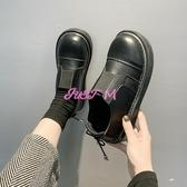 娃娃鞋女軟妹小皮鞋女春季新款日系原宿百搭平底復古大頭娃娃單鞋春季新品