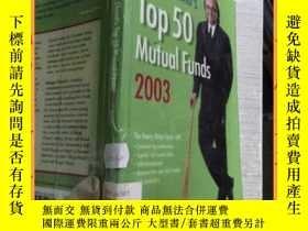 二手書博民逛書店英文書罕見ranga chand s top 50 mutual funds 蘭加·錢德的 2003年50強共同基
