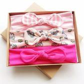 UNICO 兒童 歐美系髮帶禮盒裝-粉系獨角獸