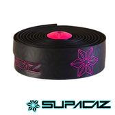 SUPACAZ 美國Super Sticky Kush高性能手把帶 印花系列 黑螢光粉【好動客】