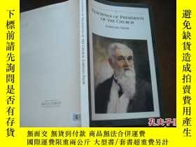 二手書博民逛書店TEACHINGS罕見OF PRESIDENTS OF THE