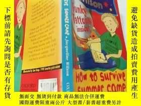 二手書博民逛書店how罕見to survive summer camp 如何度過夏令營 .Y200392