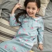 2018新款兒童睡衣女童冬秋棉質長袖秋款大童小女孩冬款家居服套裝禮物限時八九折