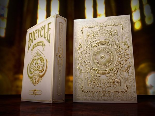 【USPCC 撲克】Bicycle collector s pearl white deck