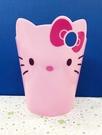 【震撼精品百貨】Hello Kitty 凱蒂貓~HELLO KITTY 塑膠垃圾桶-大臉造型M#88132