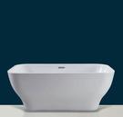 【麗室衛浴】國產 B18580   壓克力獨立造型缸 150*80*66CM 新款上市