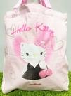 【震撼精品百貨】凱蒂貓_Hello Kitty~日本SANRIO三麗鷗 KITTY 手提包/側背包-粉LADY#50384