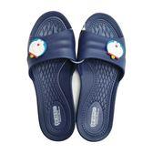 【KP】拖鞋 Doraemon 哆啦a夢 防水 防滑耐磨 環保 多款尺寸 居家拖鞋 藍色 正版授權 DTT0514190